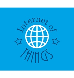 Internet of things technology vector