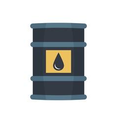Barrel oil vector image