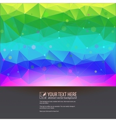 Beautiful tech background for your design vector