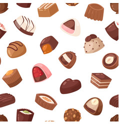 Chocolate candy sweet confection dessert vector
