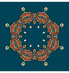 Circular ornament design vector image vector image