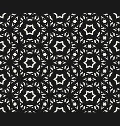 Delicate seamless pattern elegant geometric stars vector