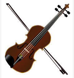 fiddle vector image