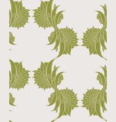 floral iznik seamless pattern design vector image