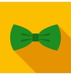 Green Bow Tie vector