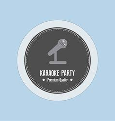 Karaoke label vector