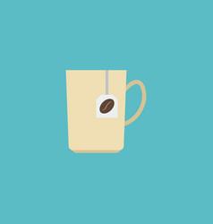 flat icon coffee capsule element vector image vector image