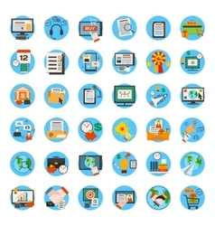 Mega collection of business marketing office and vector image