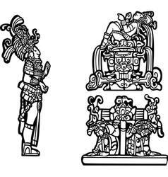 Mayan Group vector image