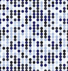seamless pattern of circles vector image vector image
