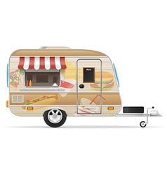 trailer food 01 vector image vector image