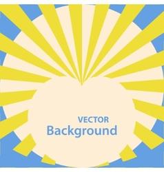 Retro heart silhouette vector image