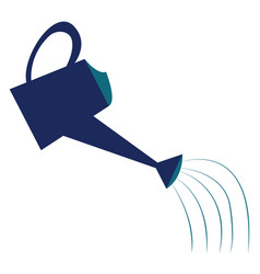 A watering can or color vector