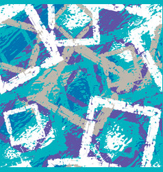 Abstract grunge seamless pattern winter camouflage vector