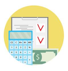 Audit of finance vector
