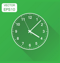 clock icon business concept office alarm clock vector image