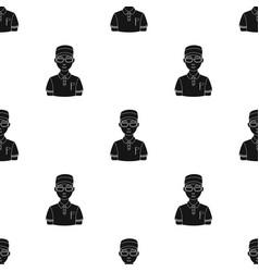 golfergolf club single icon in black style vector image