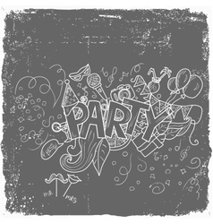 Party theme holiday vector