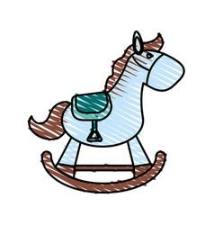 pony toy vector image