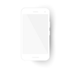 realistic original modern phone vector image