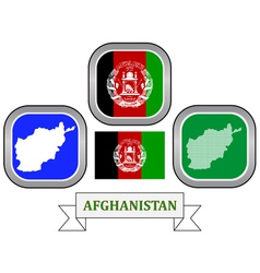 symbol of Afghanistan vector image