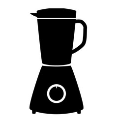 blender the black color icon vector image vector image