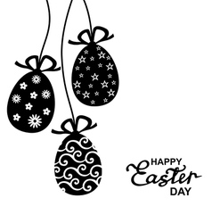 easter lace vector image