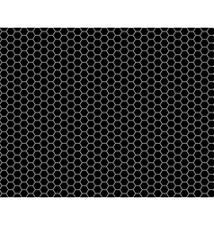 grid honeycomb seamless pattern vector image