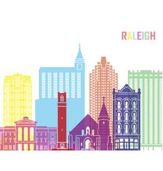 Raleigh v2 skyline pop vector