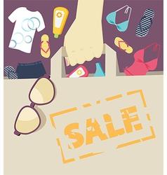 Seasonal Summer Sale vector image