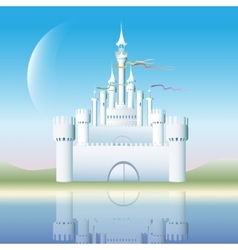 The white castle vector image
