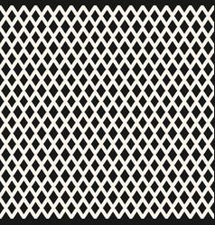 big diamonds seamless pattern rhombuses geometric vector image