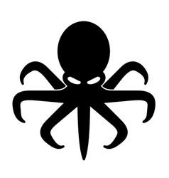 Evil octopus vector