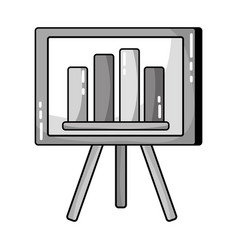 Grayscale strategy presentation with statistics vector