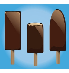 Ice Lolly vector image vector image