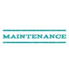 Maintenance Watermark Stamp vector