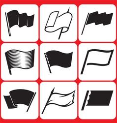 Flag Icons Set vector image