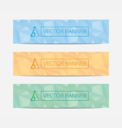 Set Of Modern Business Design Banner Template mock vector image vector image