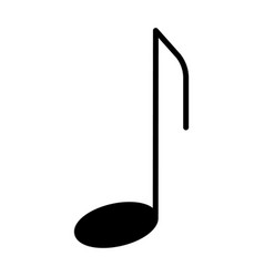 music note icon pictogram vector image vector image