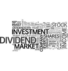 a stock market investment plan that never lets vector image