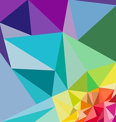 polygon backgrounds vector image vector image