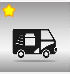 van fast delivery vector image vector image