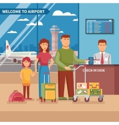 Airport Work vector image