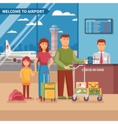 Airport Work vector