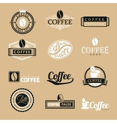 Coffee Labels Logo vector