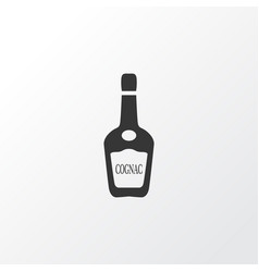 Cognac icon symbol premium quality isolated vodka vector