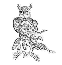 Creative Owl vector