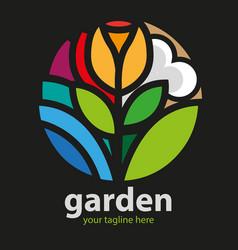 Garden vector