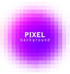 Purple pixel vector