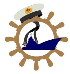 Soviet Navy vector image
